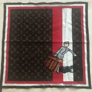 Louis Vuitton limited edition scarves travel lover